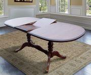 Классические обеденные столы из натурального дерева (бук)